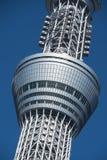 Schließen Sie oben an der Spitze des Tokyo-Himmelbaums/-spitze Lizenzfreies Stockfoto