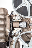 Schließen Sie oben Film-dem Projektor von der Weinlese-8mm Stockfotografie