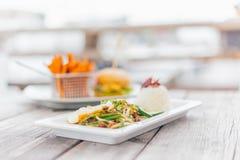 Schließen Sie oben, Reis-Lebensmittel Lizenzfreies Stockfoto