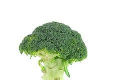 Schließen Sie oben vom Brokkoligemüse Stockfotografie