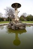 Schließen Sie oben vom Brunnen in Iveagh-Gärten Dublin Stockfotos
