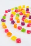 Schließen Sie oben vom bunten Süßigkeiten goog Gelee Stockbild