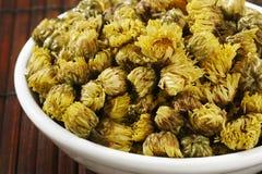 Schließen Sie oben vom Chrysanthementee Stockfotografie