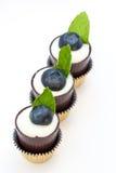 Schließen Sie oben vom fantastischen Schokoladen-Nachtisch Lizenzfreies Stockfoto
