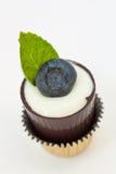 Schließen Sie oben vom fantastischen Schokoladen-Nachtisch Stockfotografie