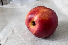 Schließen Sie oben vom frischen Pfirsich Stockbild