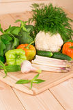 Schließen Sie oben vom Gemüse Stockbilder