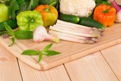 Schließen Sie oben vom Gemüse Stockbild
