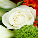 Schließen Sie oben vom Hochzeitsblumenstrauß Lizenzfreies Stockfoto