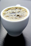 Schließen Sie oben vom Kaffee in einer Schale Lizenzfreie Stockbilder
