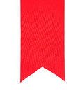 Schließen Sie oben vom roten Farbband Lizenzfreie Stockbilder