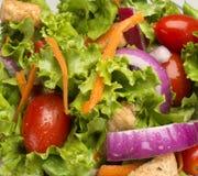 Schließen Sie oben vom Salat Lizenzfreie Stockbilder