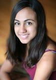 Schließen Sie oben vom schönen jungen indischen Mädchen lizenzfreie stockbilder
