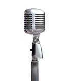 Schließen Sie oben vom Silber mic Stockfoto
