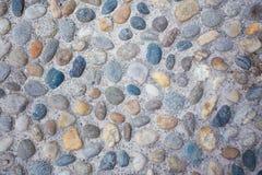 Schließen Sie oben vom Steinbodenhintergrund Lizenzfreies Stockfoto