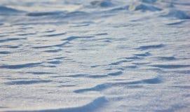 Schließen Sie oben vom weißen Schnee Lizenzfreies Stockfoto