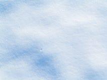 Schließen Sie oben vom weißen Schnee Stockfoto