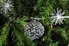 Schließen Sie oben vom Weihnachtendecorati Lizenzfreies Stockfoto