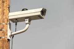 Schließen Sie oben von Überwachungskamera CCTV Stockfoto