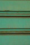 Schließen Sie oben von altem und schmutzigem gewölbtem tadellosen Blechtafeldias d Lizenzfreies Stockbild