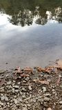 Schließen Sie oben von The Creek Stockbild