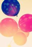 Schließen Sie oben von den Ballonen Lizenzfreies Stockfoto