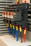 Industrielle elektrische Komponente Lizenzfreie Stockbilder