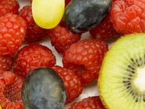 Schließen Sie oben von den Früchten Stockbilder