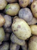 Schließen Sie oben von den Kartoffeln Stockfotografie
