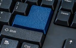 Schließen Sie oben von den Knöpfen auf Computer keyborad Lizenzfreies Stockfoto