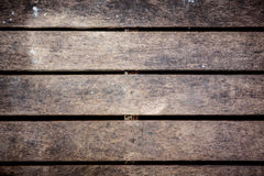 Schließen Sie oben von der alten Wand, die von hölzernem hergestellt wird Lizenzfreie Stockfotografie