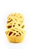 Schließen Sie oben von der Ananas Torte Stockfotos
