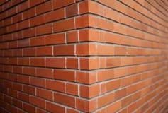 Schließen Sie oben von der Backsteinmauer Lizenzfreie Stockfotografie