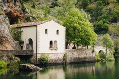 Schließen Sie oben von der Einsiedlerei von San Domenico lizenzfreie stockfotografie
