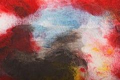 Schließen Sie oben von der Malerei, abstrakter Hintergrund Lizenzfreies Stockbild