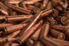 Schließen Sie oben von der Munition Lizenzfreies Stockfoto