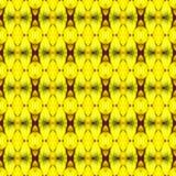 Schließen Sie oben von der reifen Banane, die nahtlose Goldfarbe lizenzfreie abbildung