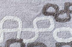 Schließen Sie oben von der Teppichbeschaffenheit Stockbild