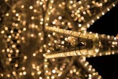 Schließen Sie oben von der Weihnachtssterndekoration Lizenzfreie Stockbilder