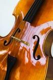 Schließen Sie oben von einem Cello lizenzfreies stockbild