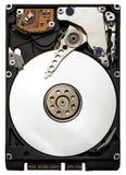 Schließen Sie oben von einem Festplattenlaufwerk des Computers Stockfotografie