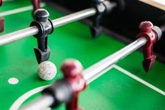 Schließen Sie oben von einem foosball Spiel lizenzfreies stockfoto