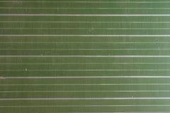 Schließen Sie oben von einem Grün, gestreifte Tafel Lizenzfreies Stockfoto