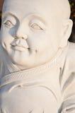 Schließen Sie oben von einem Marmorbuddha Stockbilder