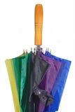 Schließen Sie oben von einem Regenschirm Stockbilder