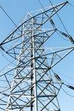 Schließen Sie oben von einem Stromturm Stockfotografie