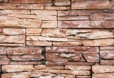 Schließen Sie oben von einer Backsteinmauer Stockbilder