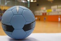 Schließen Sie oben von einer Handballkugel Stockfotos