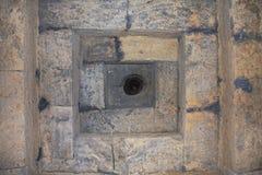 Schließen Sie oben von einer königlichen Grabdecke, Beschaffenheit Lizenzfreies Stockfoto