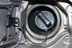 Schließen Sie oben von einer Treibstoffkappe Lizenzfreie Stockfotos